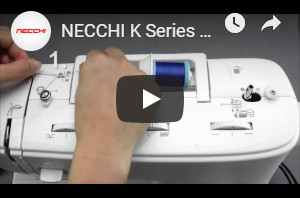 Necchi sewing machine K408A